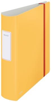 Leitz Cosy classeur à levier Active, dos de 8,2 cm, jaune