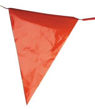 Bruant en plastique, 10 mètres, orange