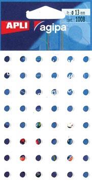 Agipa oeillets de renforcement pochette de 1.008 pièces