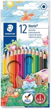 Staedtler crayons de couleur Noris Club, étui de 12 pièces