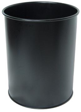 Durable corbeille à papier noir