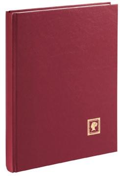 Pagna album de timbres, A4, 32 feuilles, rouge