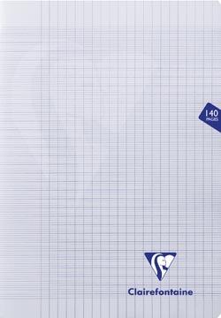 Clairefontaine cahier mimesys pour ft A4+, 140 pages, couverture en PP, séyès, couleurs assorties