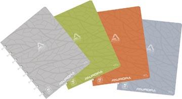 Adoc cahier Design, ft A5, 144 pages, couverture en carton, quadrillé 5 mm, couleurs assorties