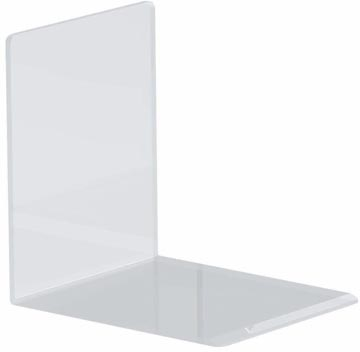 Maul serre-livres ft 10 x 8 x 10 cm, transparent