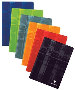 Clairefontaine cahier ft 16,5 x 21 cm, 72 pages, ligné, avec marge