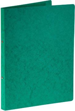 Bronyl classeur à anneaux, pour ft A4, en carton lustré, 2 anneaux de 16 mm, vert