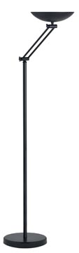 Unilux lampadaire Dely Articuled, lampe LED, noir