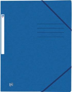 Elba Oxford Top File+ farde à rabats, pour ft A4, bleu
