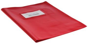 Bronyl protège-cahiers ft 16,5 x 21 cm (cahier), rouge