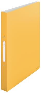 Leitz Cosy classeur à anneaux, en PP, ft A4, jaune