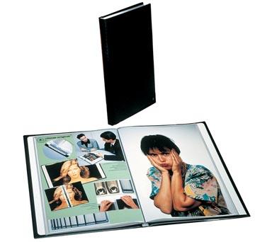 Rillstab protège-documents, ft A4, 60 pochettes, noir