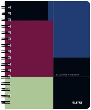 Leitz carnet de notes Executive, ft A5, quadrillé 5 mm