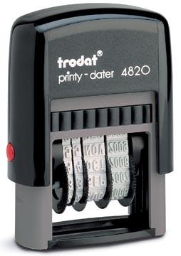 Trodat tampon dateur Printy 4820, néerlandais