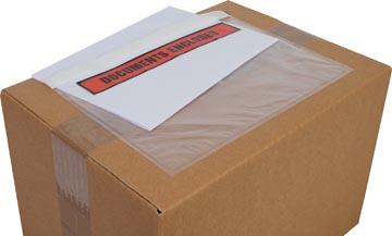 Cleverpack pochette documents, Documents Enclosed, ft 230 x 157 mm, paquet de 100 pièces