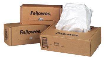 Fellowes sacs de 165 liter pour destructeurs, paquet de 50 sacs