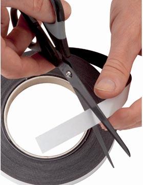 Maul bande magnétique auto-adhésive 10 m x 2,5 cm