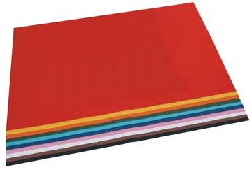 Folia papier à dessin coloré couleurs assorties