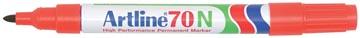Marqueur permanent Artline 70, rouge