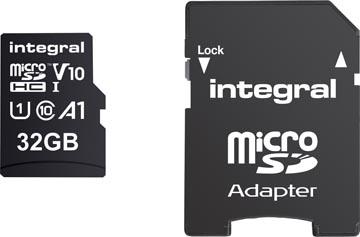 Integral carte mémoire microSDHC, 32 Go