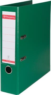 Pergamy classeur, pour ft A4, entièrement en PP, dos de 8 cm, vert
