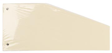 Pergamy intercalaires trapézoïdaux, paquet de 100 pièces, chamois