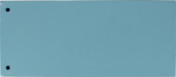 Pergamy intercalaires, paquet de 100 pièces, bleu