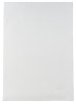 Pergamy pochette coin, ft A4, PP de 120 micron, paquet de 25 pièces, transparent