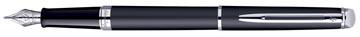 Waterman Collection Hemisphère stylo plume moyen, Matte Black CT