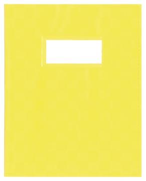 Protège-cahiers jaune