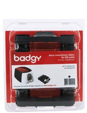 Ruban monochrome 500 impressions, pour Badgy100 et Badgy200