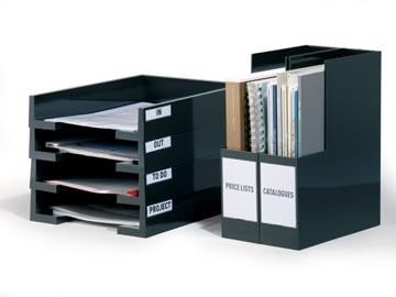 Durable Pocketfix dimensions intérieures 75 x 18 mm, dimensions extérieures 81 x 22 mm