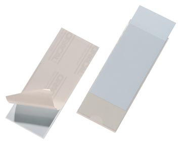 Durable Pocketfix dimensions intérieures 150 x 58 mm, dimensions extérieures 154 x 62 mm
