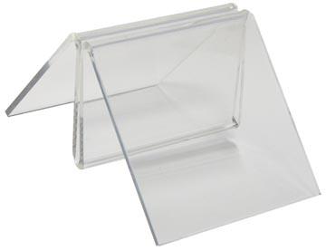Deflecto clip pour menu agrafe, 50 mm