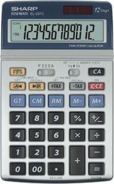 Sharp calculatirce de bureau EL-337C