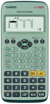 Casio calculatrice scientifique FX92 Collège B