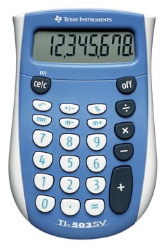 Texas calculatrice de poche TI-503 SV