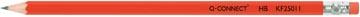 Q-Connect crayon HB avec gomme