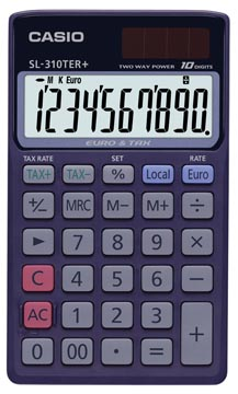 Casio calculatrice de poche SL-310TER+