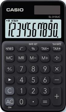 Casio calculatrice de poche SL-310UC, noir