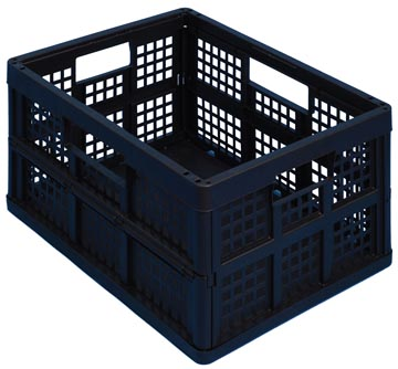 Really Useful Box bac pliant 32 l, noir