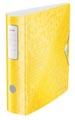 Leitz WOW classeur à levier Active, dos de 8,2 cm, jaune
