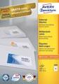 Avery Zweckform 3484, étiquettes universelles, Ultragrip, blanc, 100 feuilles, 105 x 37 mm