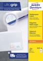 Avery Zweckform 3658-2, étiquettes universelles, Ultragrip, blanc, 200 feuilles, 64,6 x 33,8 mm