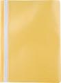 Pergamy farde à devis, ft A4, PP, paquet de 5 pièces, jaune